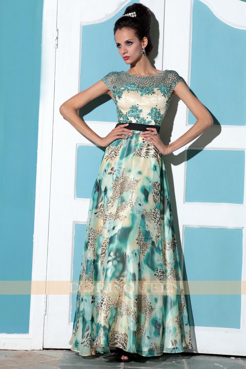 Elegant long mother of bride dresses evening new fashion 2013 for ...